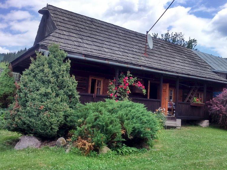 A108 - ubytovanie v drevenici na okraji obce Čierny Balog na Horehroní