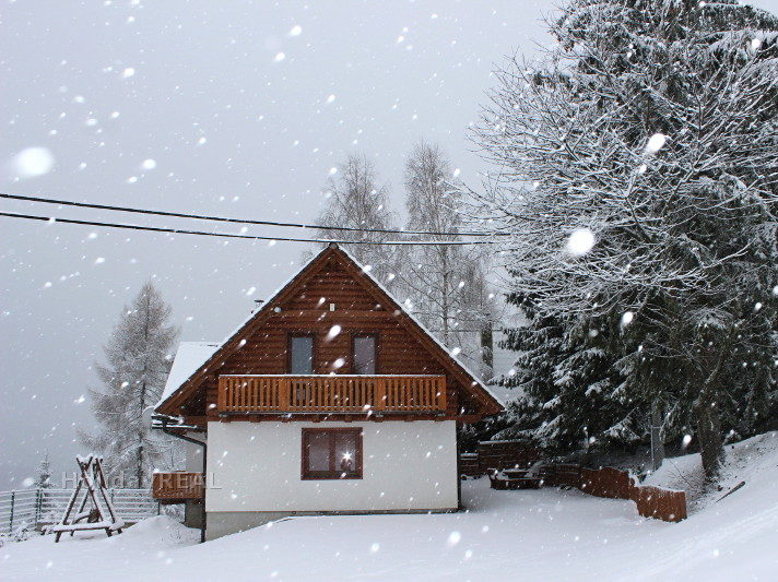 A287 - chata na prenájom na okraji lesa pri obci Oravská Lesná na Orave v Slovenských Beskydách
